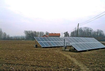 TKP Energy - Ogledno dobro TKP 1, mrežna solarna elektrana 2012